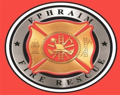 EPHRAIM FIRE DEPARTMENT LOGO