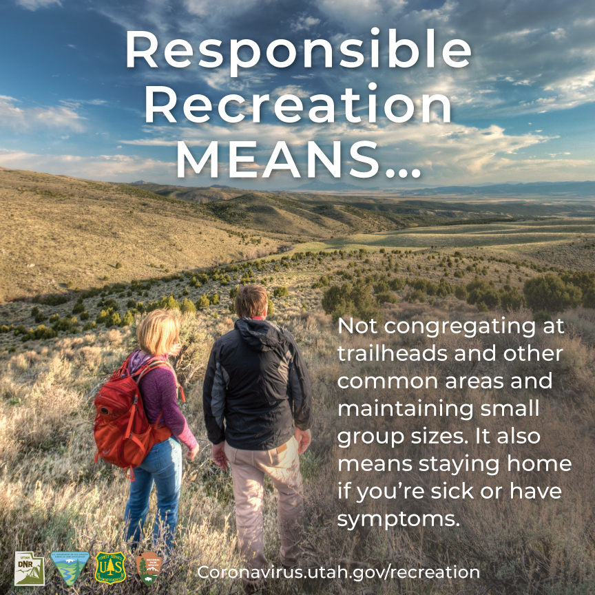Responsible recreation means...